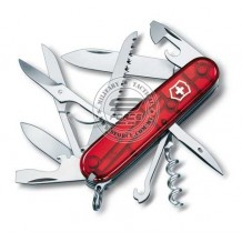 Victorinox Huntsman RED TRANSLUCENT