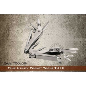 True Utility Pocket Tools TU12