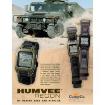 HUMVEE Military Hand Watch Black (1 year warranty)