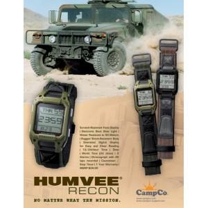 HUMVEE Recon Military Watch Black (1 year warranty)