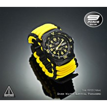 Diver Watch Survival Paracord (Analog, date, day) - HW1210