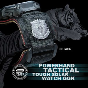 POWERHAND TACTICAL TOUCH SOLAR WATCH-GGK (HW205)