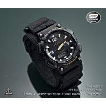 Tactical combination watch (Casio Tough Solar Power + GP1210 Tactical Grip)