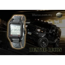 HUMVEE Recon Military Watch Black (1 year warranty)