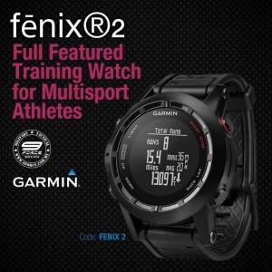 GARMIN FENIX®2 FULL FEATURED TRAINING WATCH