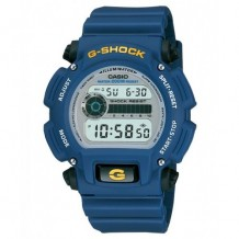 Casio Men's G-Shock Blue Rubber Digital Dial Watch