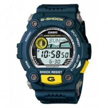 Casio Men's G-Shock Blue Resin Digital Dial Watch