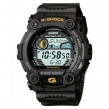 Casio Men's G-Shock Green Resin Digital Dial Watch