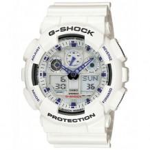 Casio Men's G-Shock Ana-Digi White Resin Alarm Dive Watch