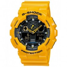 Casio Men's Yellow G-Shock Watch