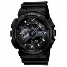 G-Shock Ana-digi World Time Black Dial Men's watch