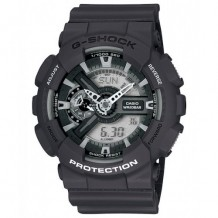 Casio Men's G-Shock Analog/Digital Grey Resin Strap Watch