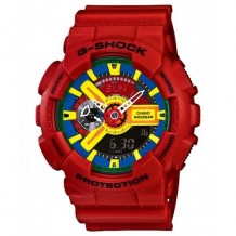 Casio G-Shock Red Blue Yellow Watch Watch