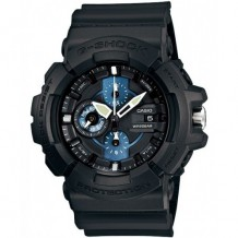 Casio G-Shock Blockade Chronograph Black/Blue Watch
