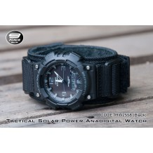 Tactical Solar Power Anadigital Watch