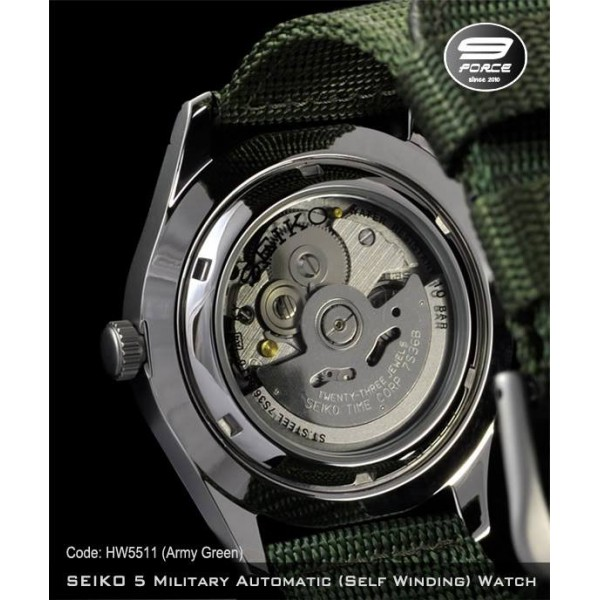 Most Expensive Watch In The World With Price >> SEIKO 5 Military Watch Automatic (Self Winding) - HW5510