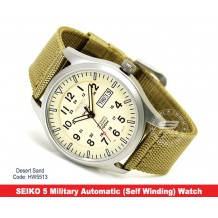 SEIKO 5 Military Watch Automatic (Self Winding) DESERT SAND (Authentic SEIKO)