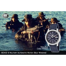 SEIKO 5 Military Watch Automatic Navy Blue (Self Winding)