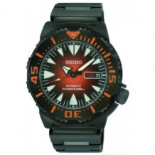 Seiko Men's Sport Automatic Monster Diver's Orange Dial WR200M Watch
